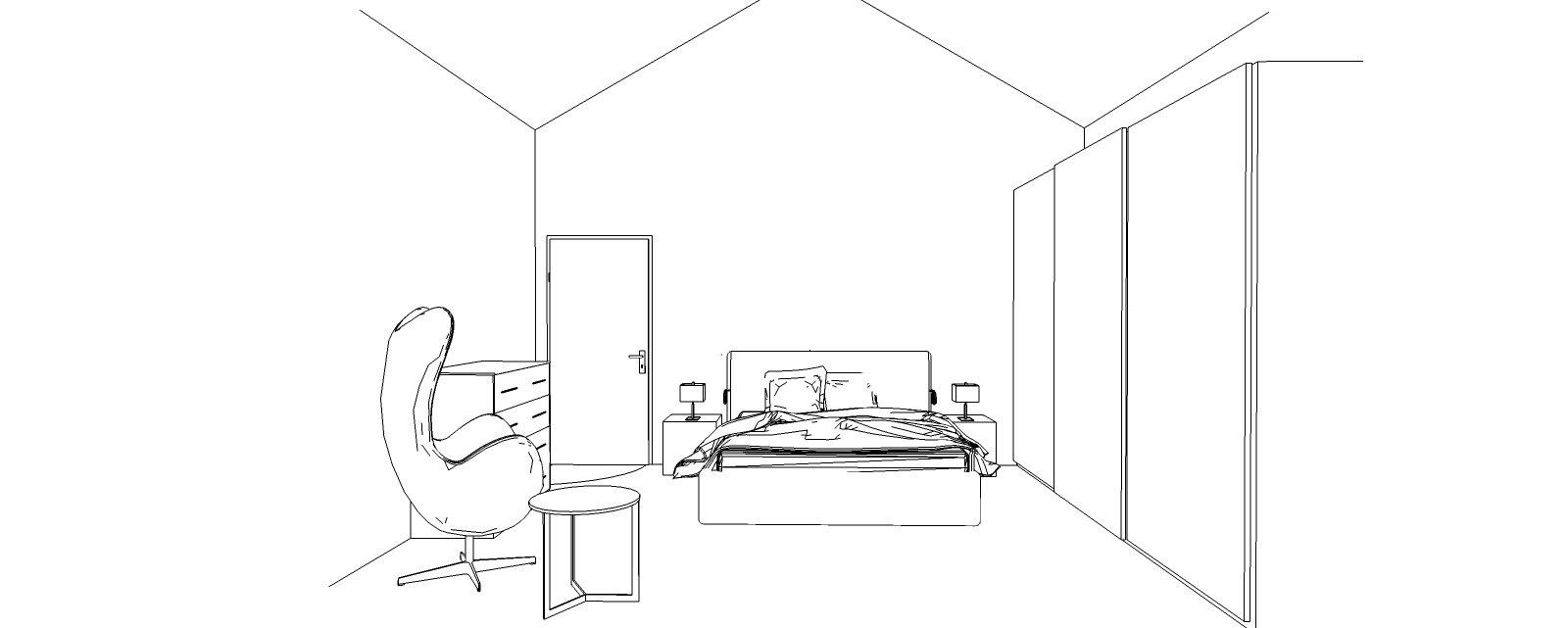 3D camera sottotetto
